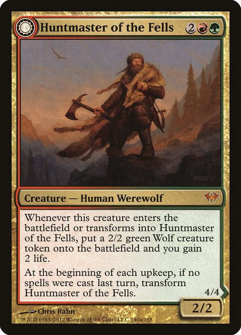 Huntmaster of the Fells // Ravager of the Fells